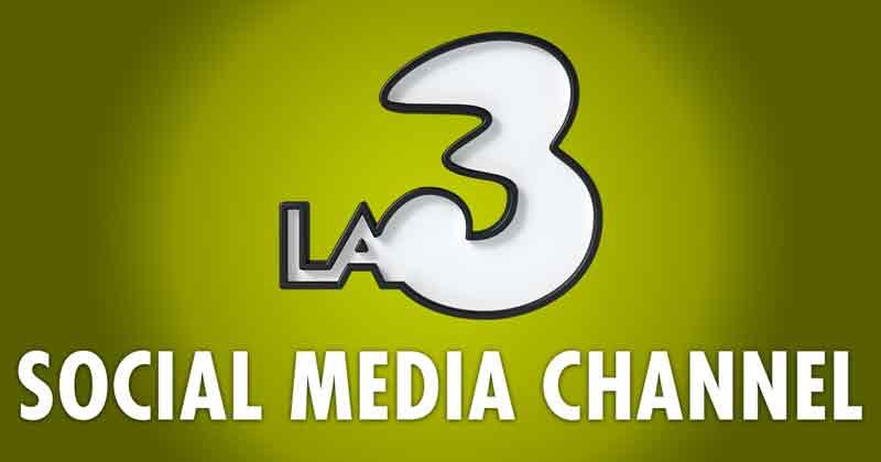 La 3. Logo del canale tv Wind Tre
