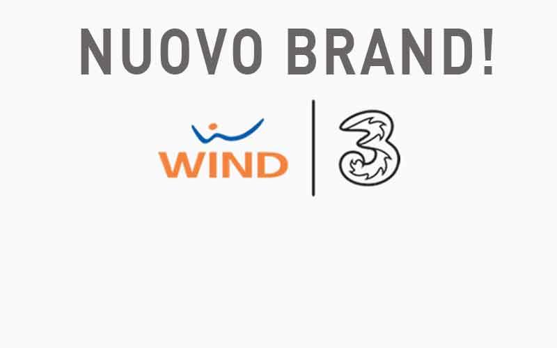 Nuovo Brand Wind Tre