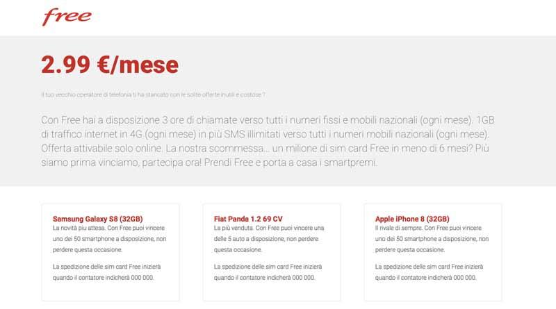 Sito Fake Free Mobile