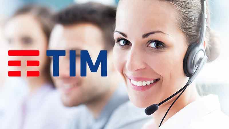 Come entrare in contatto con TIM