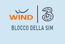 Blocco sim Wind e 3