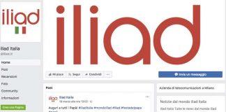 Iliad Pagina Fake