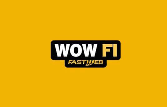 Logo del Wow Fi di Fastweb