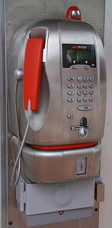Digito Cabina Telefonica