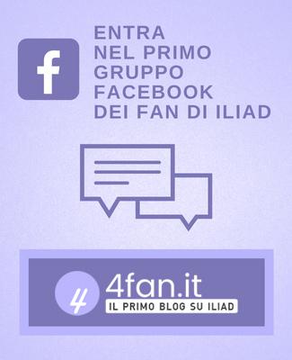 Gruppo Facebook fan di Iliad
