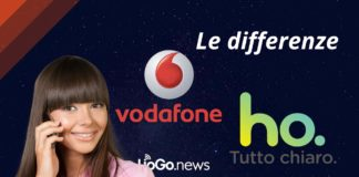 Differenze tra Vodafone e Ho Mobile