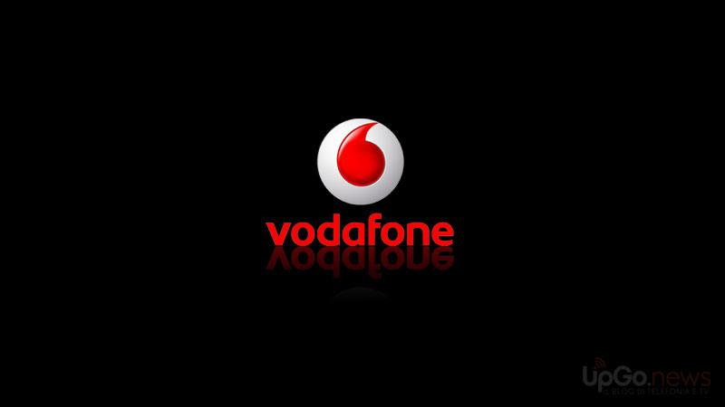 Vodafone logo nero