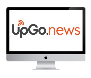 UpGo.news logo del blog
