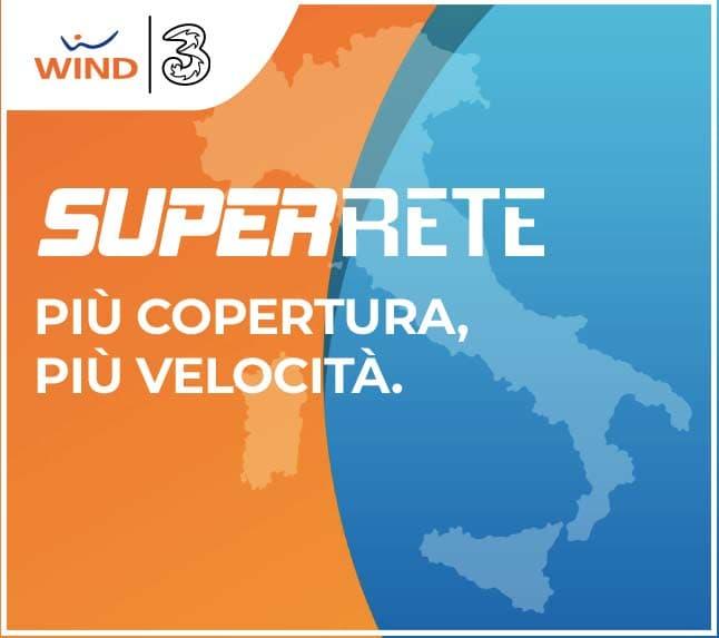 Super Rete Wind Tre