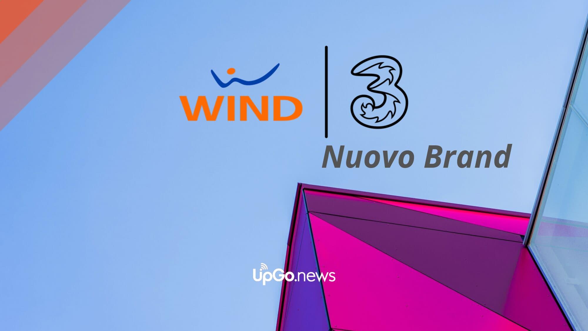 Wind 3 nuovo brand
