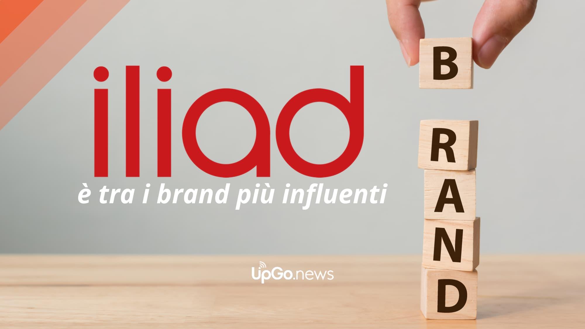 Iliad brand influenti