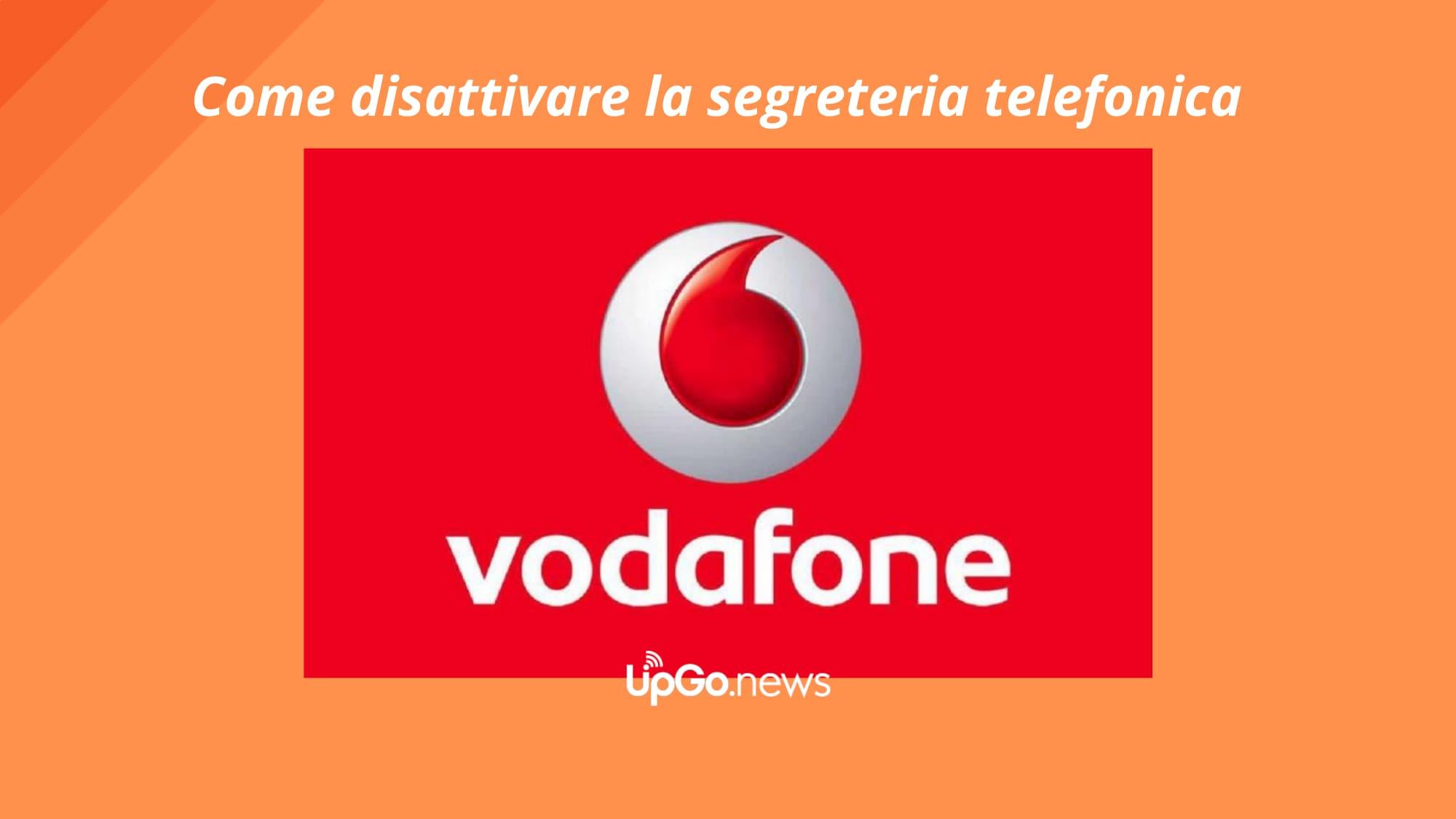 Segreteria Telefonica Vodafone