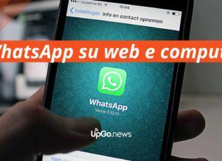WhatsApp su Web e Computer