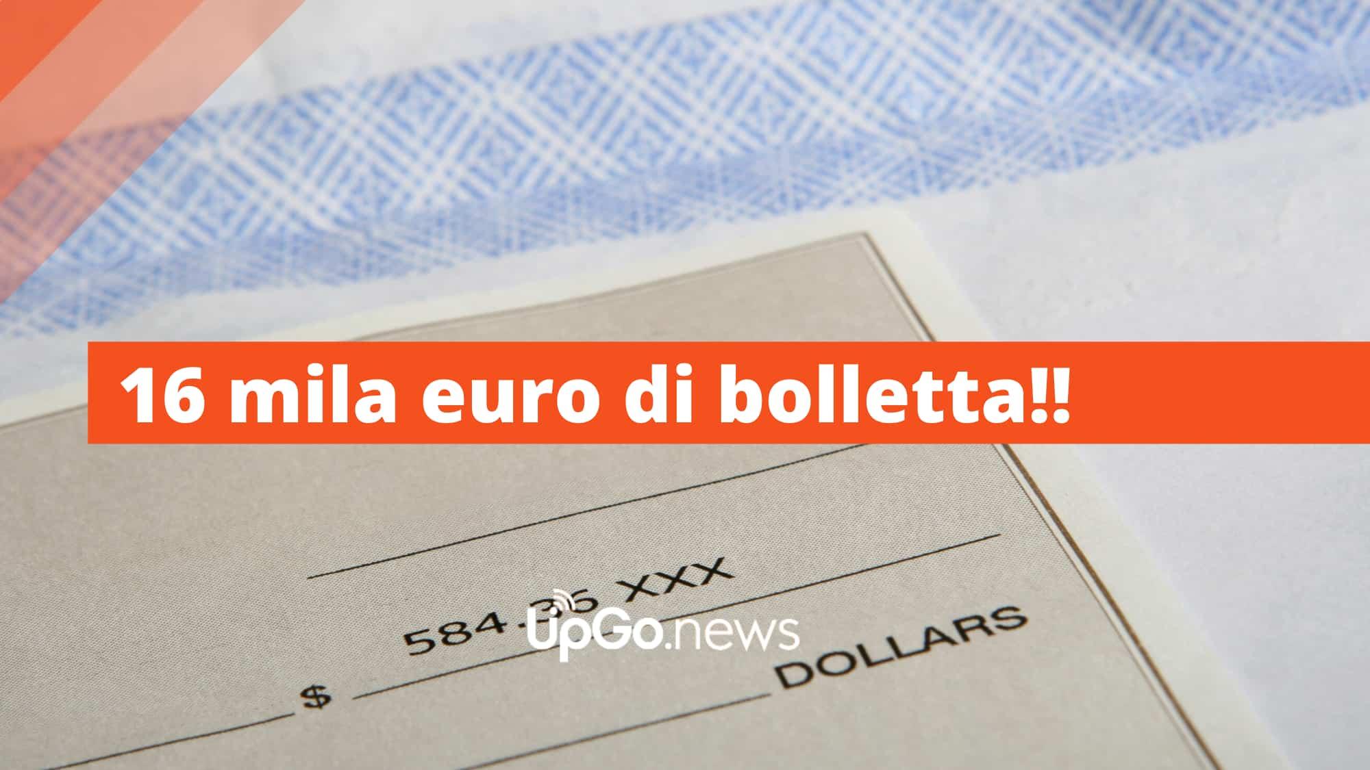 16 mila euro di bolletta TIM