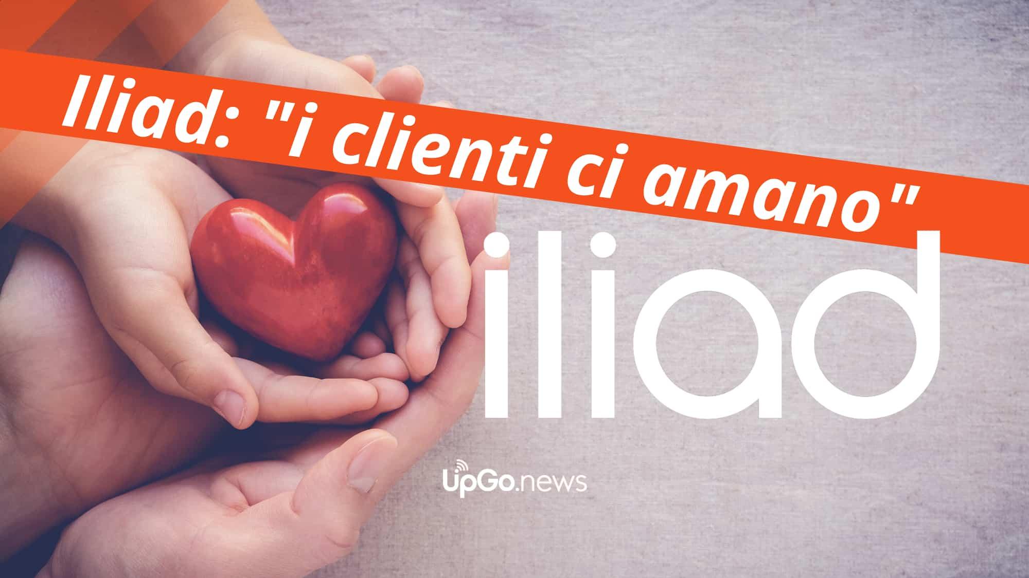 I clienti amano Iliad