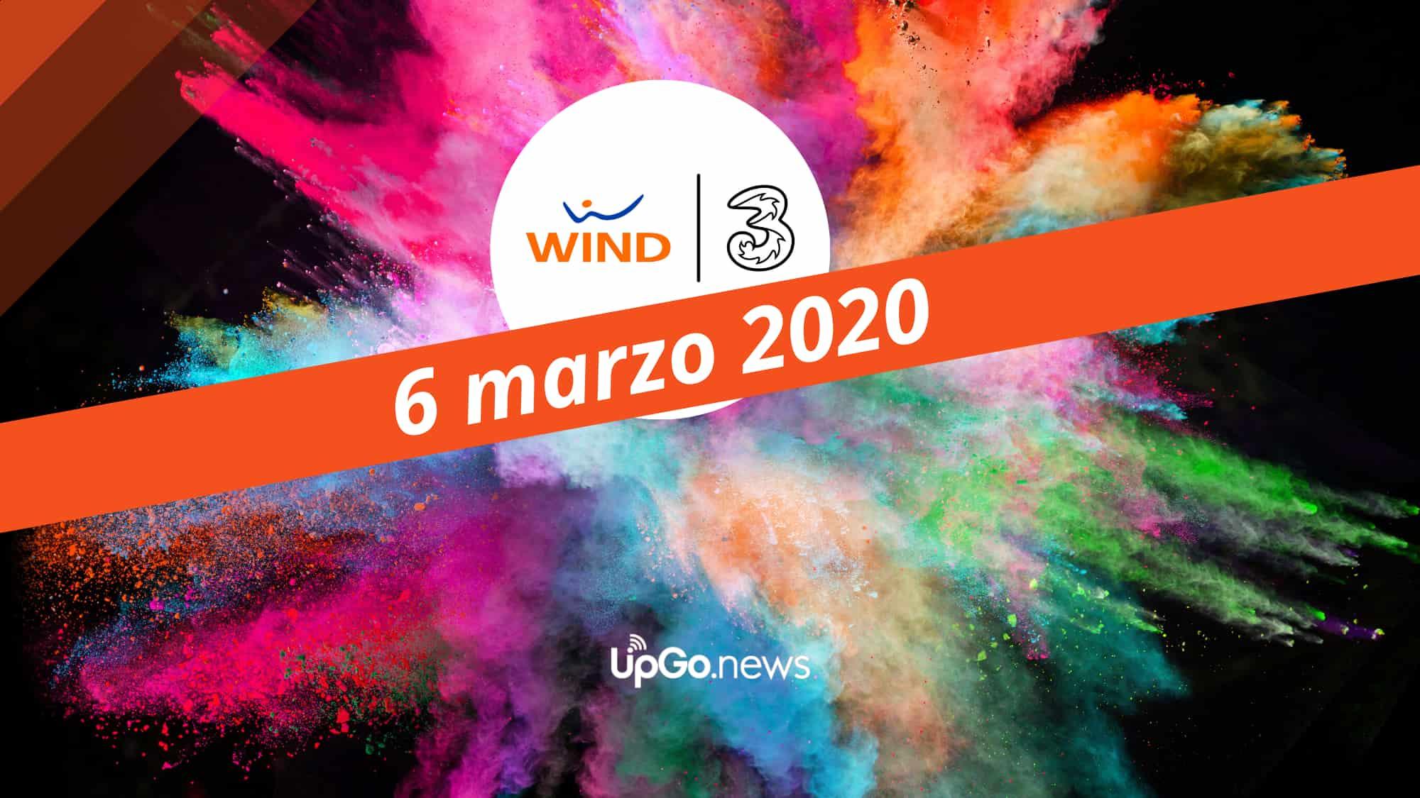 WTre il 6 marzo 2020