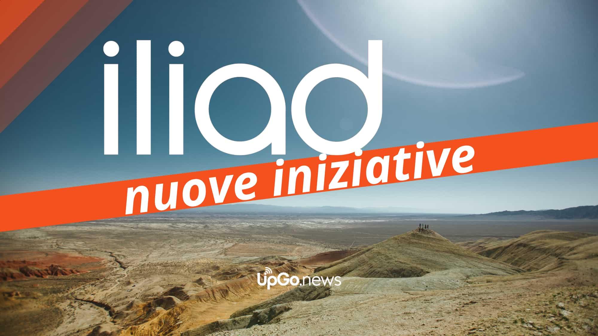 Iliad nuove iniziative