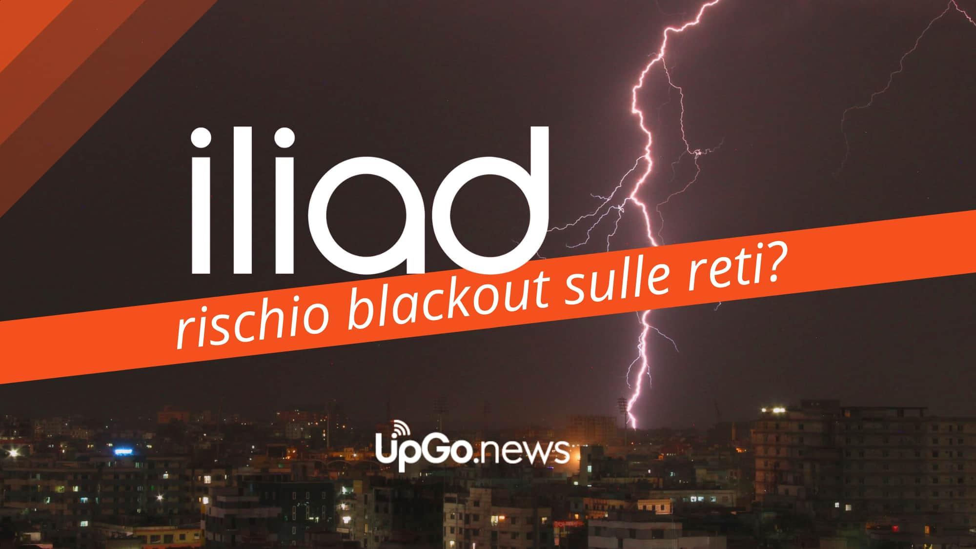 Iliad rischio blackout
