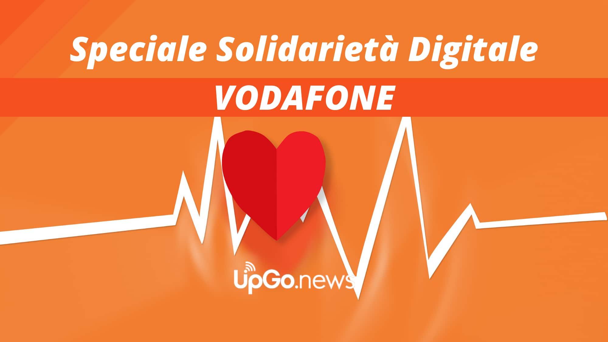 Solidarietà Digitale Vodafone