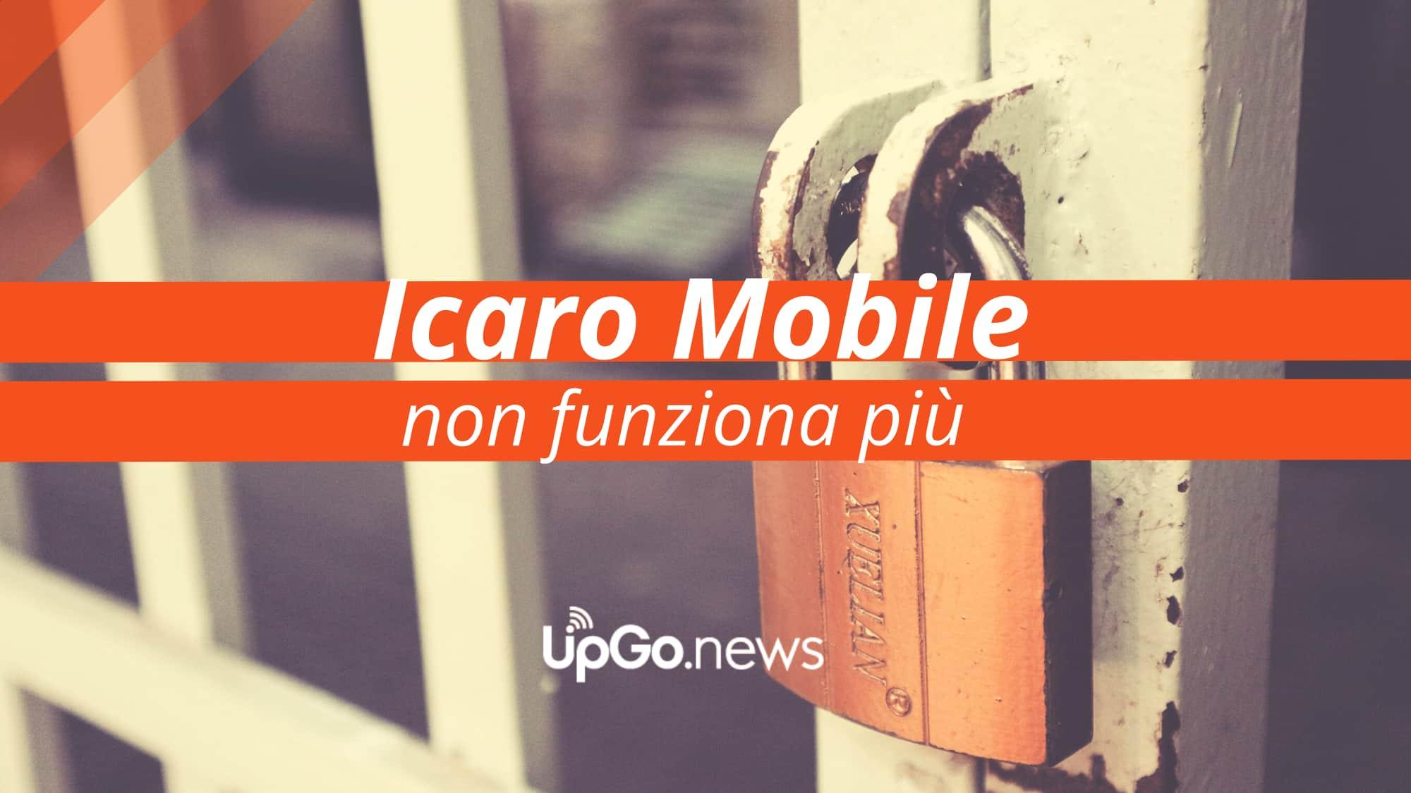 Icaro Mobile non funziona