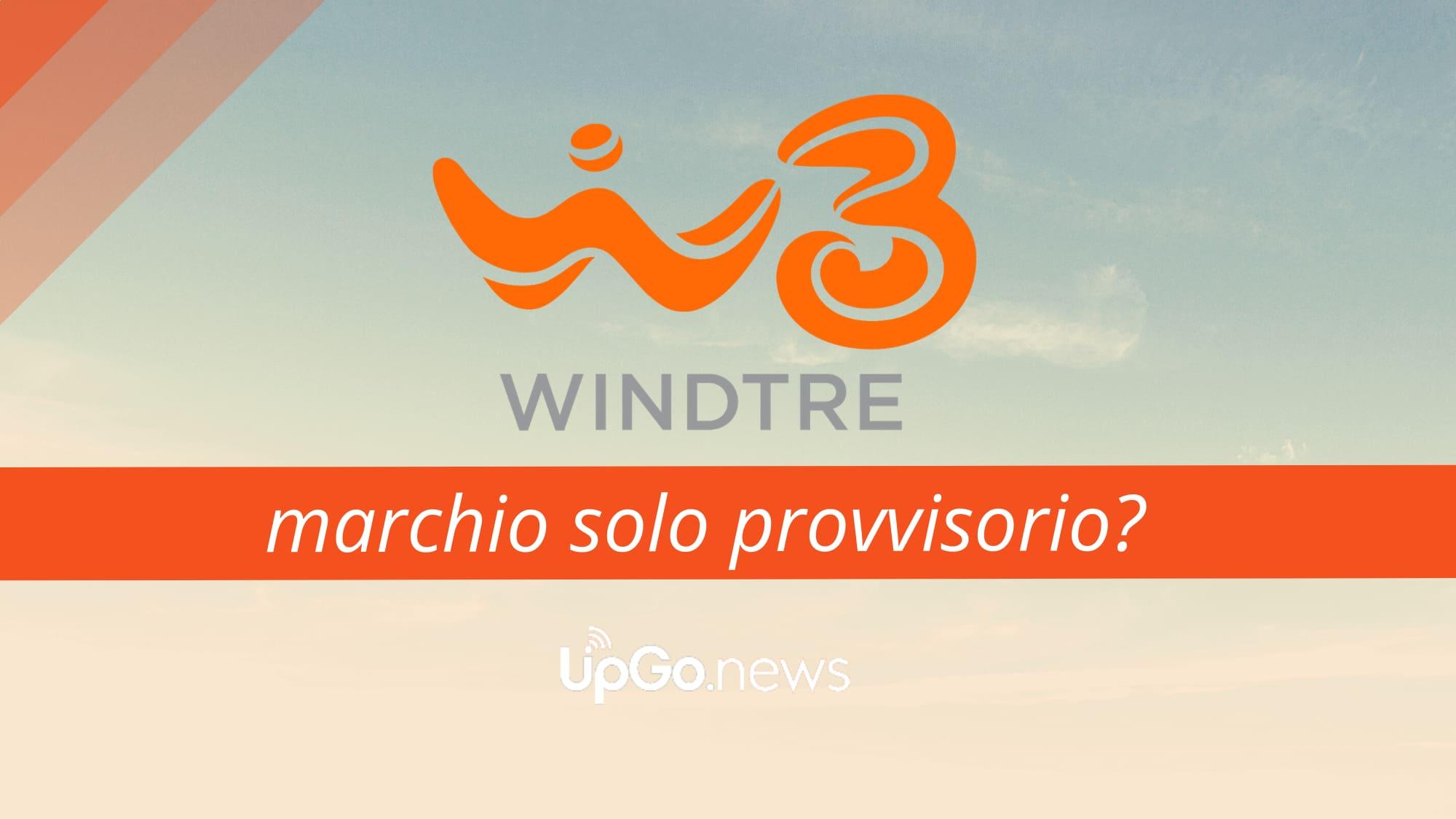 WindTre marchio provvisorio