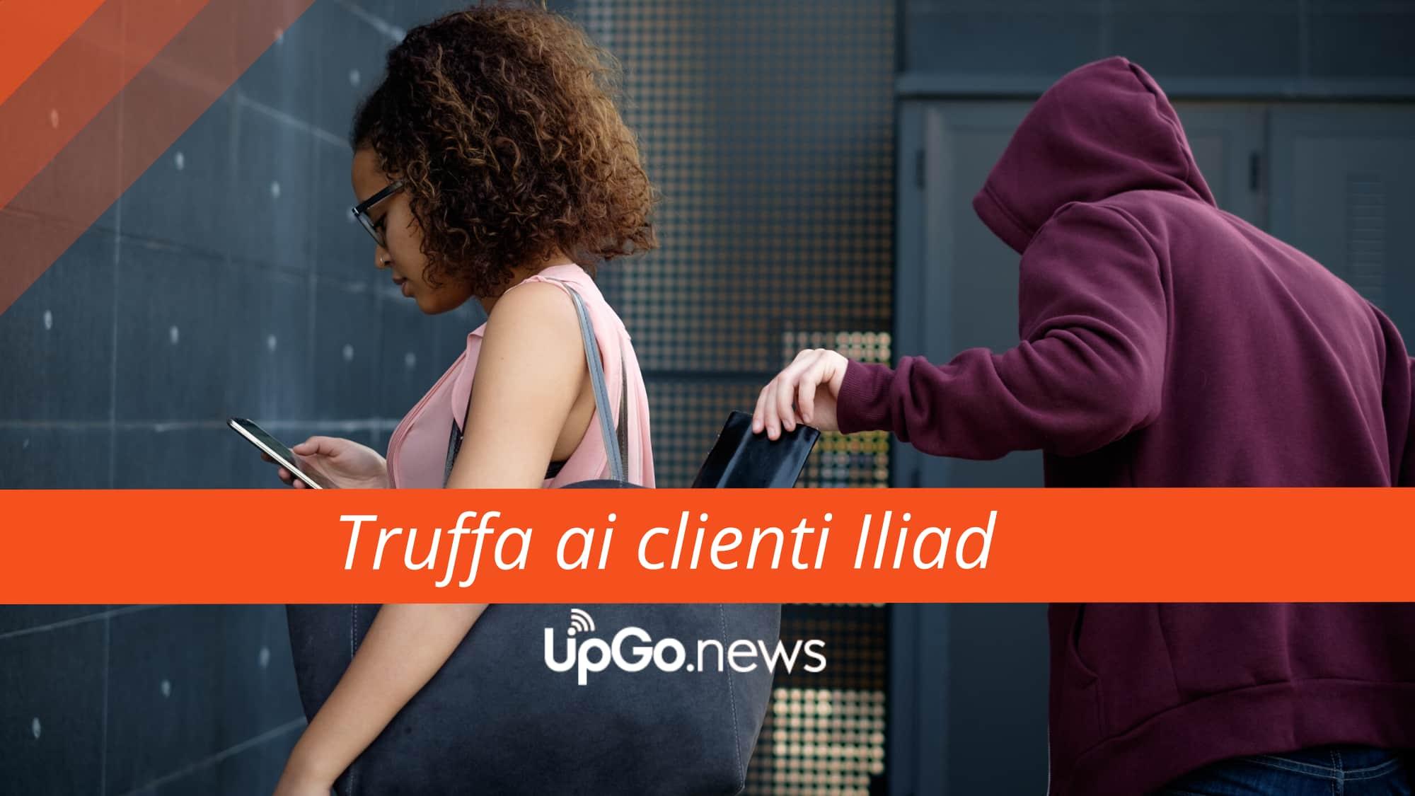 Truffa ai clienti Iliad