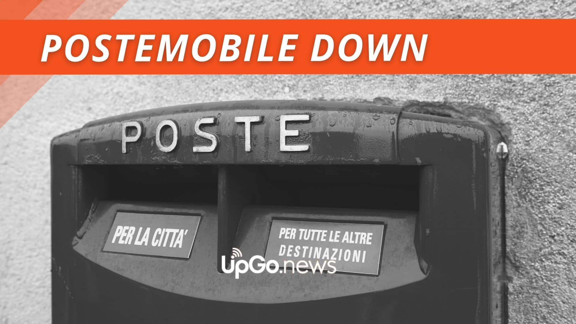 PosteMobile down