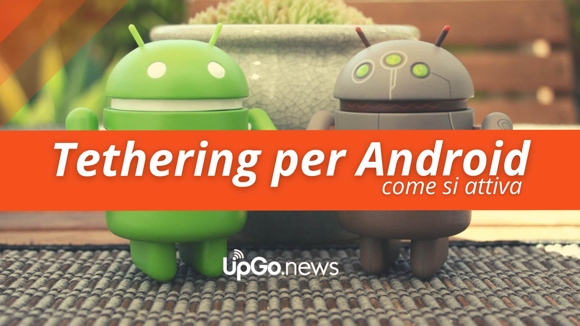 Tethering per Android