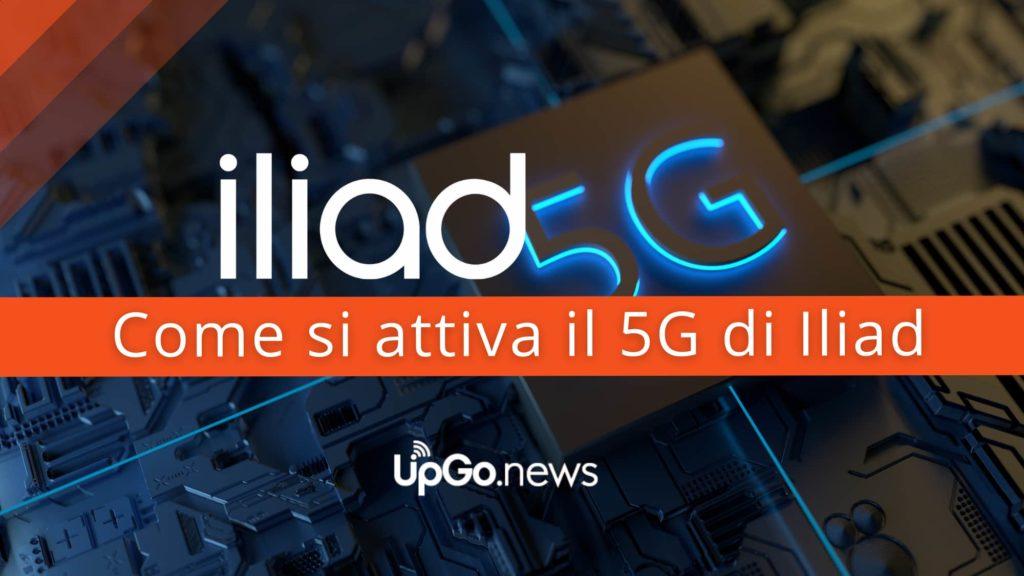 Come si attiva il 5G di Iliad