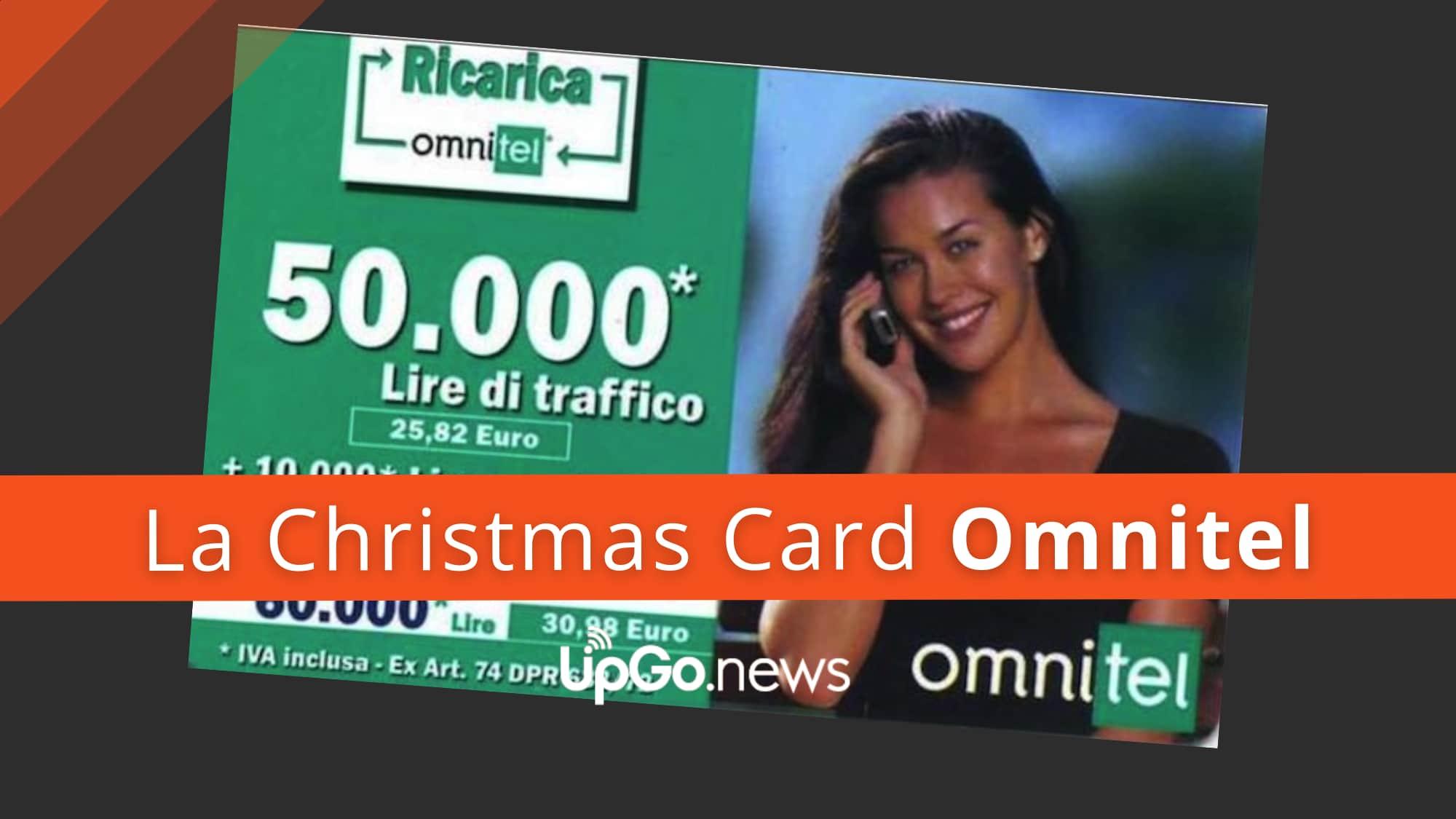 Christmas Card Omnitel
