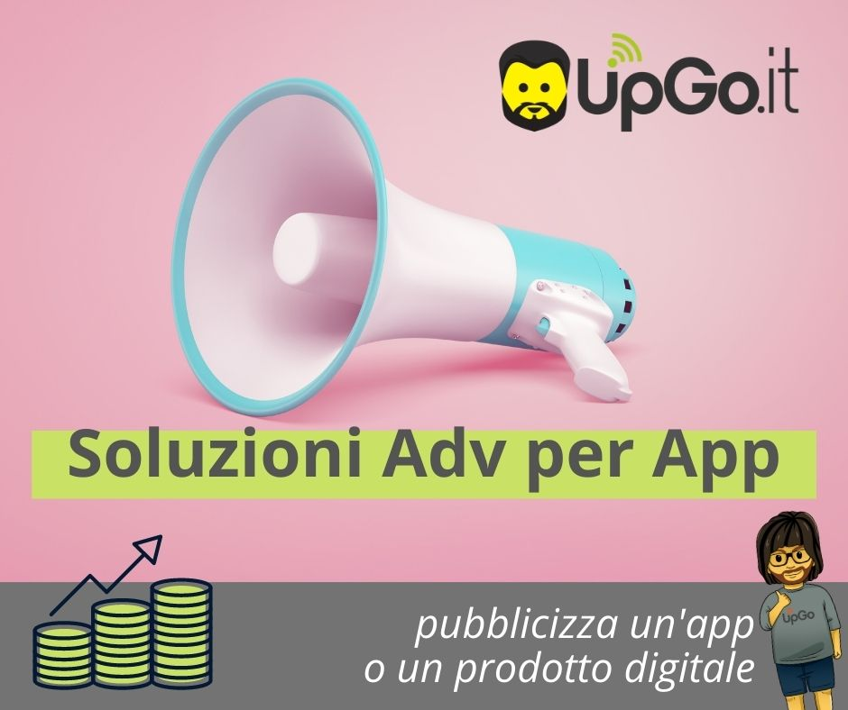 Pubblicizza un'app