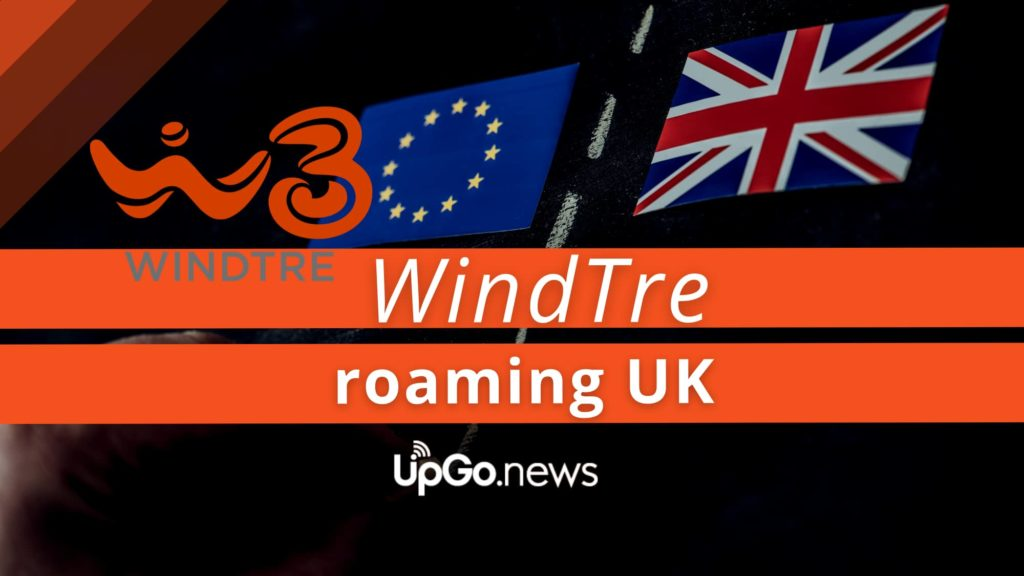 WindTre roaming UK
