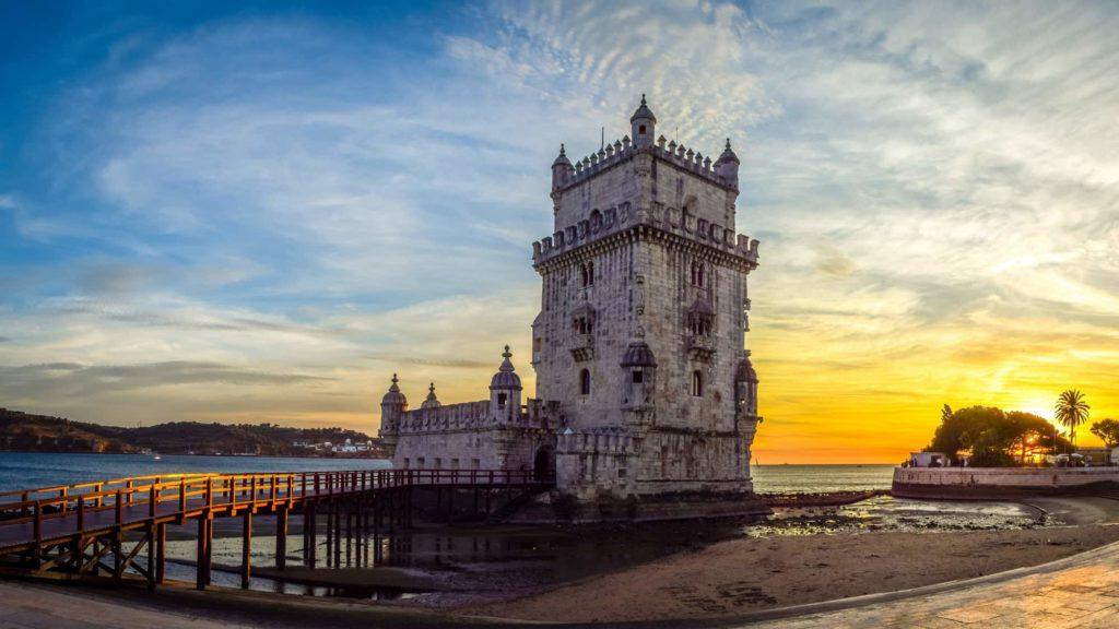 Foto di un Faro in Portogallo