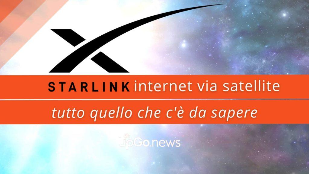 Starlink internet. Come funziona