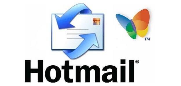 Vecchio logo di Hotmail