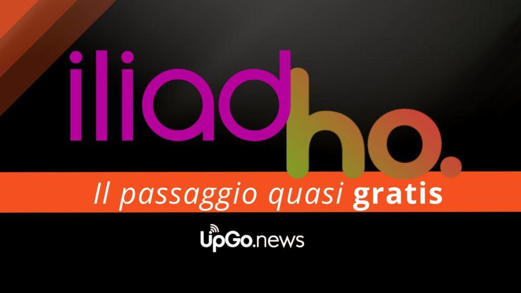 Passaggio offerta da Iliad a Ho Mobile