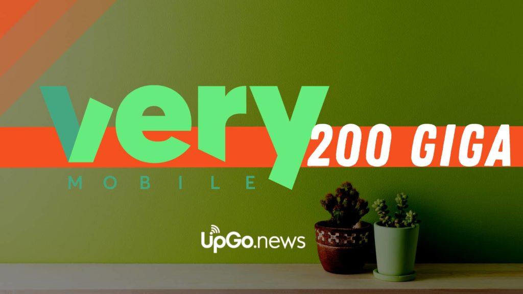 Very Mobile 200 giga