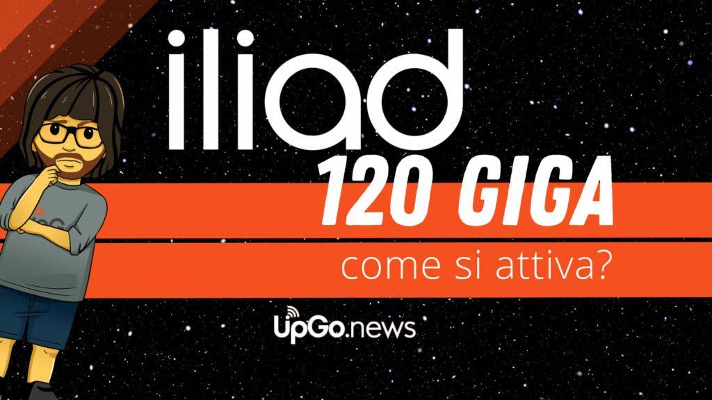 Offerta Iliad Giga 120 a 9,99 euro / mese