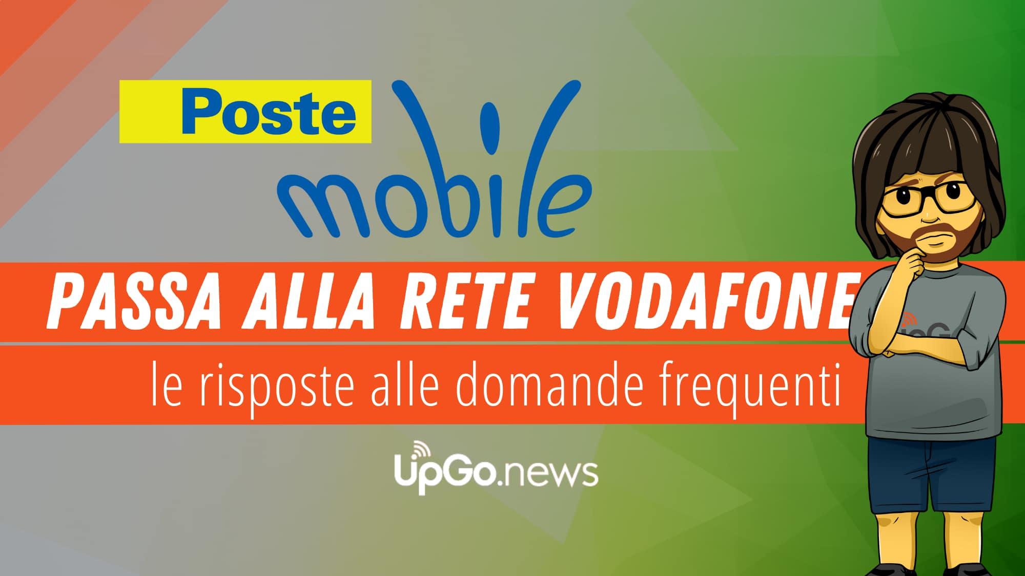 PosteMobile passa a rete Vodafone
