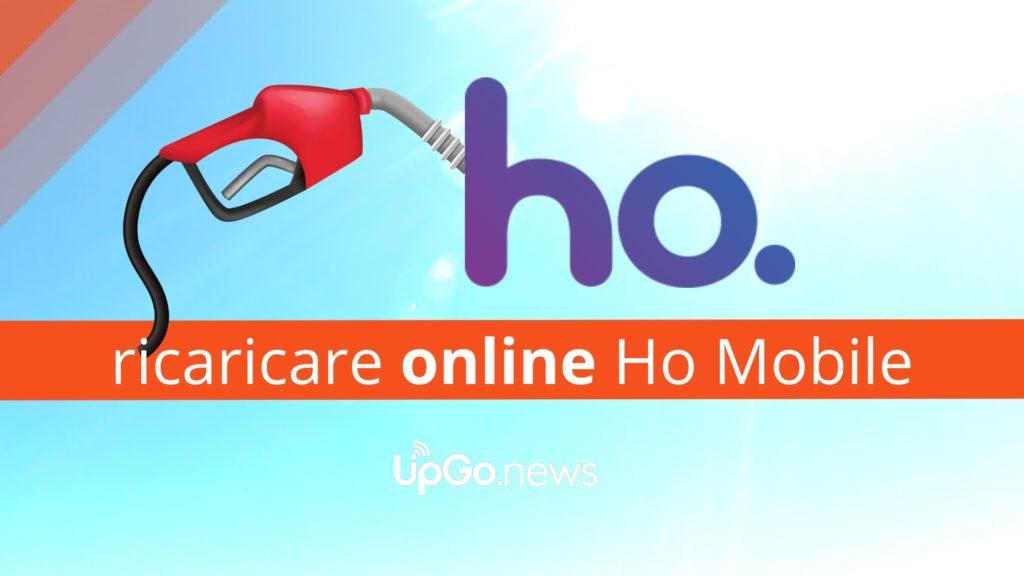 Ricaricare online Ho Mobile