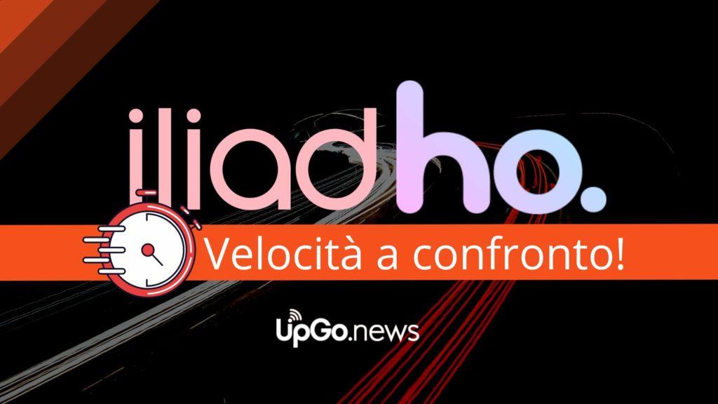 Velocità di Iliad e Velocità di Ho Mobile a confronto