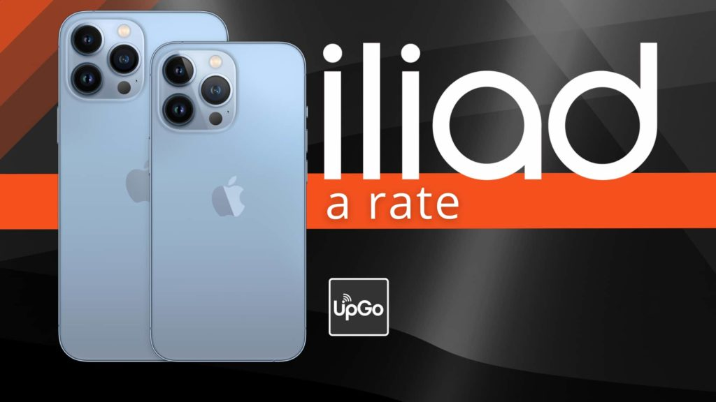 IPhone 13 a rate Iliad